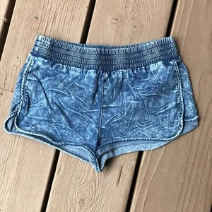 BDG Acid Wash Denim Shorts
